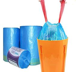 Drawstring Trash Bags - 19 Liter / 5 Gallon Used in Office &