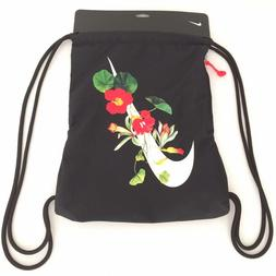 floral swoosh heritage day pack drawstring athletic