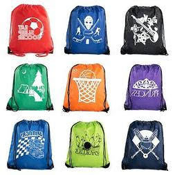 Goodie Bags for Kids | Drawstring Gift Bags with Logo for Bd