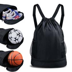 Gym Drawstring Bag SKL Sport Basketball Backpack Water Resis