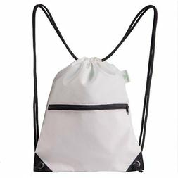 HOLYLUCK Men & Women Outdoor Sport Gym Sack Drawstring Backp