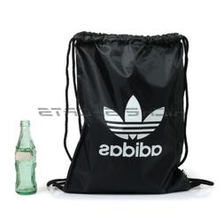 Adidas Gymsack Trefoil Black/White Originals Drawstring Bag