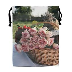 Hair Dryer Bags Cotton Drawstring Bag Container Hairdryer Ba