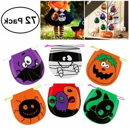 Unomor Halloween Candy Bags Drawstring Kids Trick Treat Bags