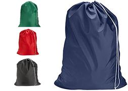 Heavy Duty Extra Large Nylon Laundry Bag Locking Drawstring