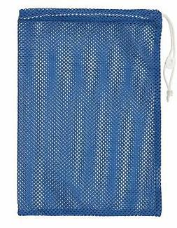 "Champion Sports 12x18"" Heavy Duty Nylon Mesh Equipment Bag w"
