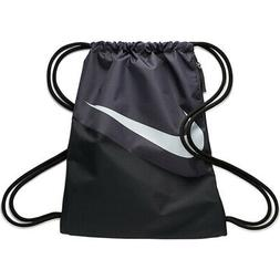 NIKE HERITAGE 2 GYMSACK BLACK/GRAY/WHITE DRAWSTRING BAG BACK