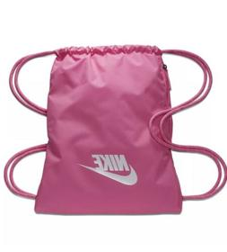 Nike Heritage Gymsack, Pink, Drawstring Bag  BA5901 New with