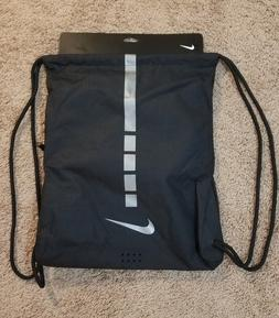 Nike Hoops Elite Basketball Gym Drawstring Bag 2.0. Black/Si