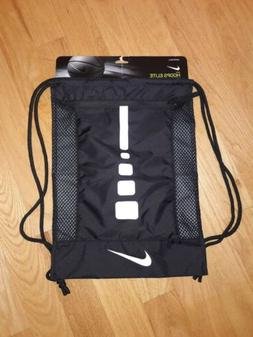 Nike Hoops Elite Drawstring Training Gymsack Backpack Black