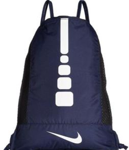 NIKE HOOPS ELITE GYMSACK BLUE/BLACK DRAWSTRING BAG BACKPACK