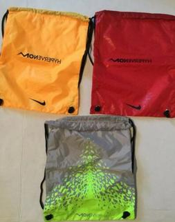 Nike Hypervenom Backpack Drawstring Shoe Bag Soccer Cleat Go