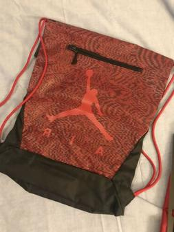 Nike Jordan Jumpman 23 Drawstring Bag Sac 669812-014 Red Bla