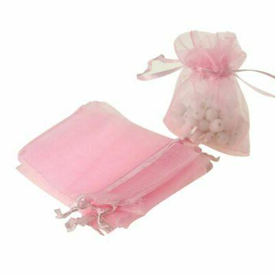100pc Organza Jewelry Drawstring Bags Favors US