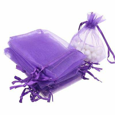 100pc Jewelry Favors Bags Mesh US