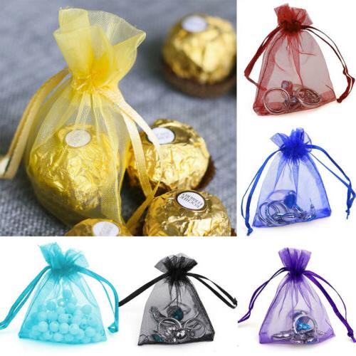 200pcs Jewelry Wedding Favor Gift Bags