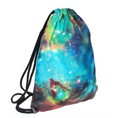 Ababalaya Backpack Rucksack Gym Bag, Universe