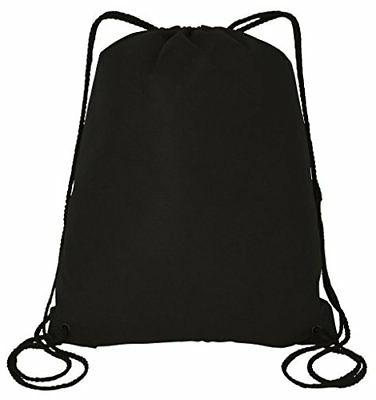 50 Pieces Bulk 100gm Non-Woven Polypropylene Drawstring Bag,