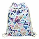 Artone Colorful Triangle Polyester Drawstring Bag Travel Day