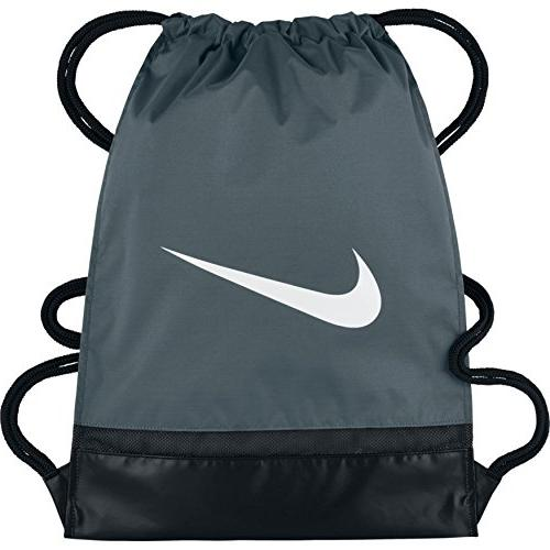 NIKE Brasilia Gymsack, Flint Grey/Black/White, One Size