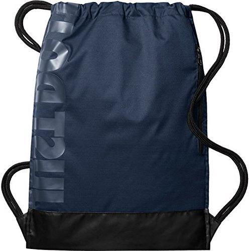 NIKE Gymsack, Midnight Navy/Black/White, One