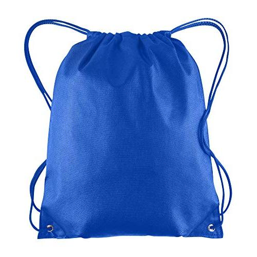 Pack Of 25 Non Woven Promotional Drawstring Bags Backpack In Bulk String Bag Tote Cinch