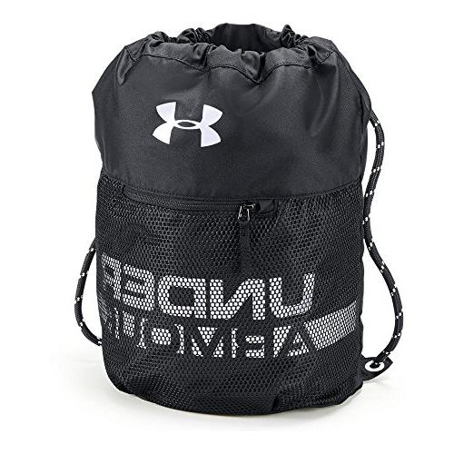 Under Armour Boys' Armour Select Backpack, Black /White, One