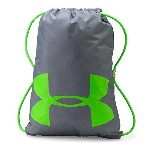 Under Armour Ozsee Elevated Glow Sackpack,Overcast Gray/Quir