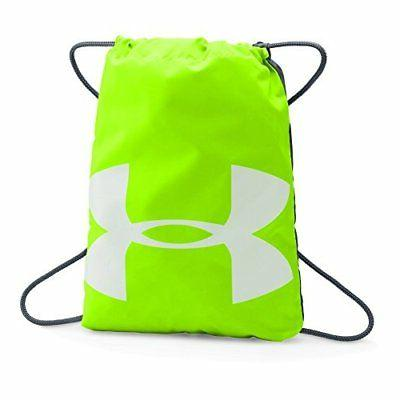 Under Armour Ozsee Sackpack, Hyper Green /Stealth Gray, One