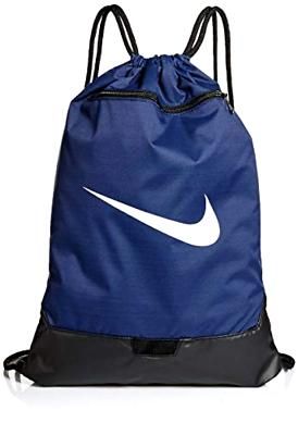 Nike Brasilia Training Gymsack, Drawstring Backpack with Zip