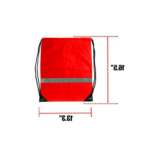 Drawstring 12 Backpack Sport Gym Bag Backpacks