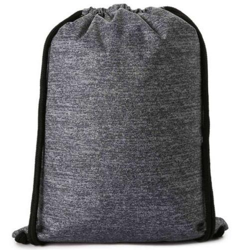 Drawstring Backpack Adidas Gym Clothes Shoes