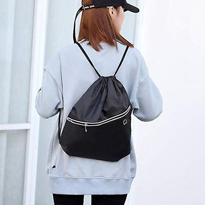 Drawstring Backpack Bag Gym Sack