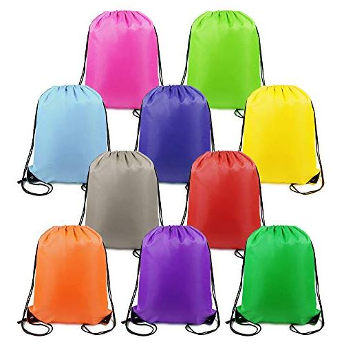 drawstring backpack string gym bag