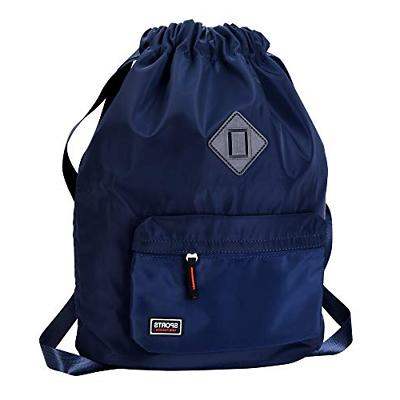 Drawstring Bag Waterproof Sport Gym Backpack for Men and Wom