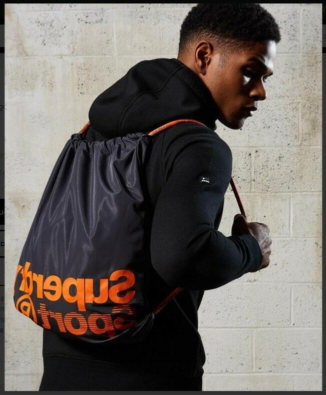 SuperDry Drawstring Bag in and