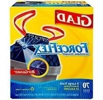 Glad ForceFlex Extra Strong Extra Large Tear Resistant Draws