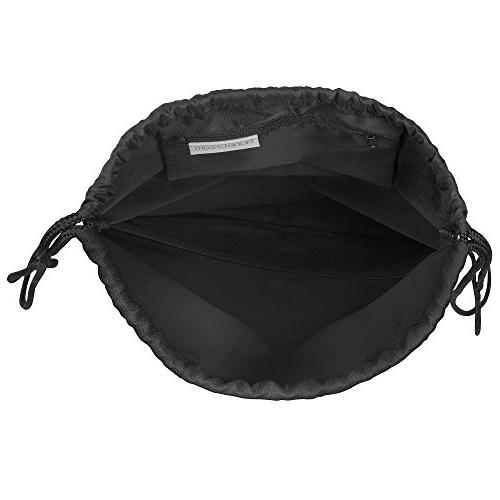 Drawstring x Drawstring Duffel Travel Necessities Zippered