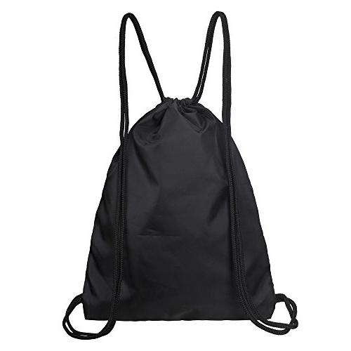 "Drawstring Backpack 17.5"" x 13.5"" Drawstring Bag School 