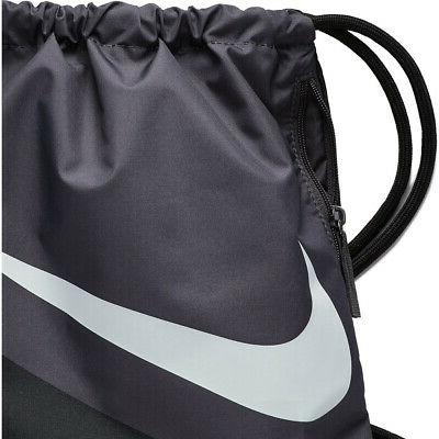 NIKE HERITAGE BLACK/GRAY/WHITE BAG GYM SACK BA5903