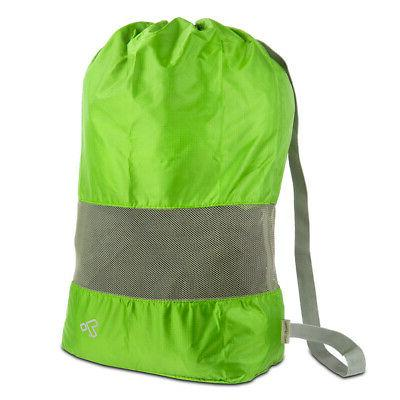 Travelon Lightweight Nylon and Mesh Drawstring Storage Trave