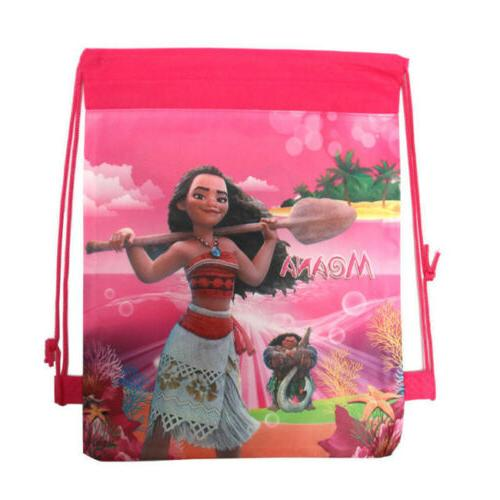 Moana Non-woven Drawstring Backpack Kids School