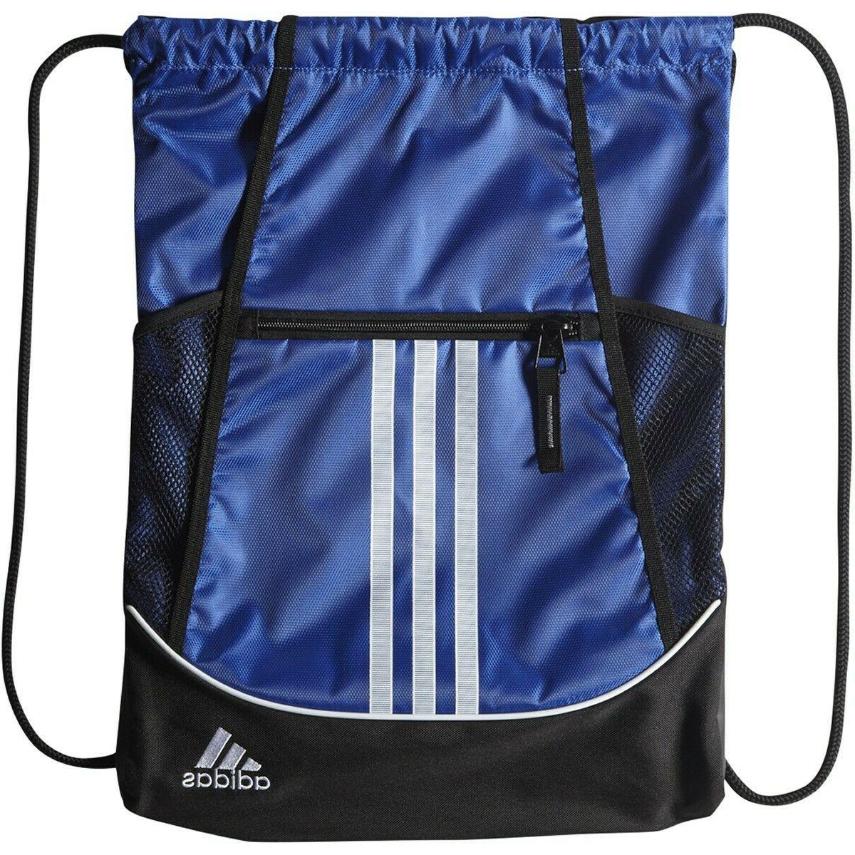 NEW adidas Alliance Sackpack Drawstring Bag All Colors