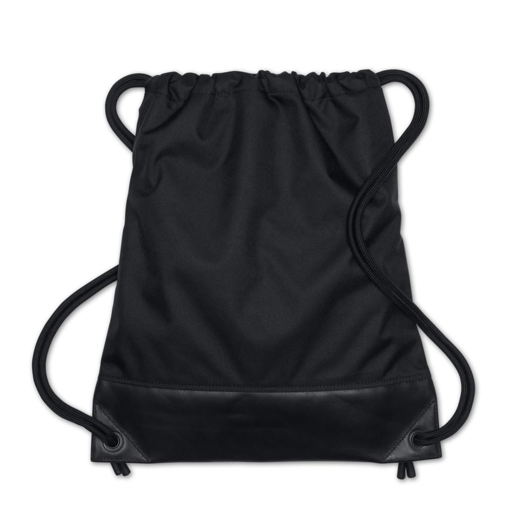 new lab gym sack bag black drawstring