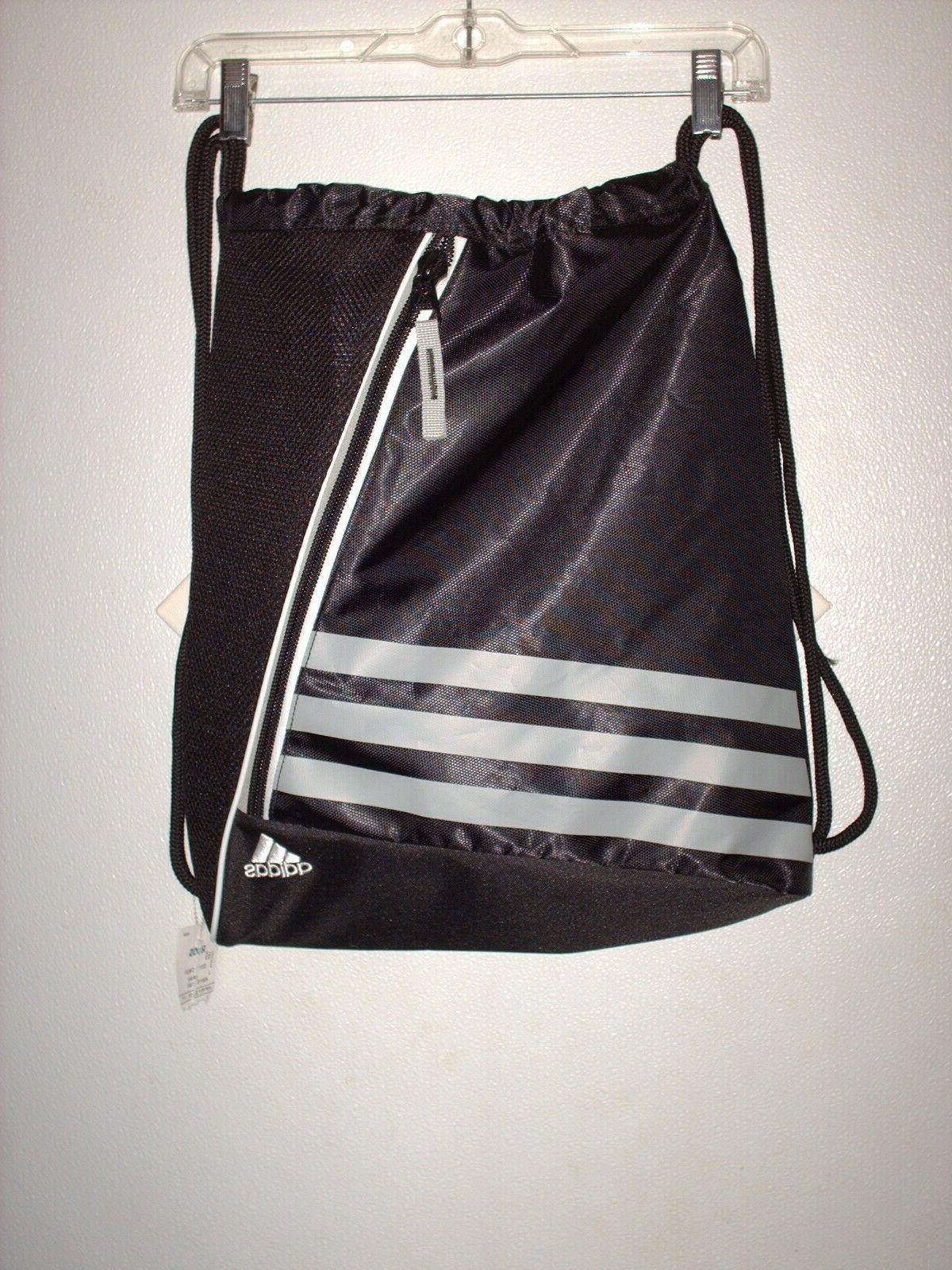 nwt drawstring backpack sport gym sack bag