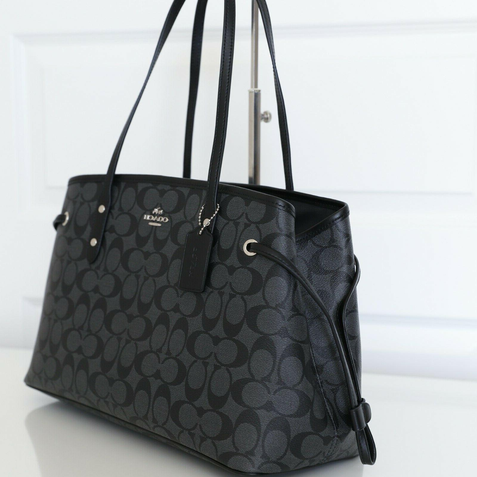 NWT Coach Drawstring Carryall Shoulder in