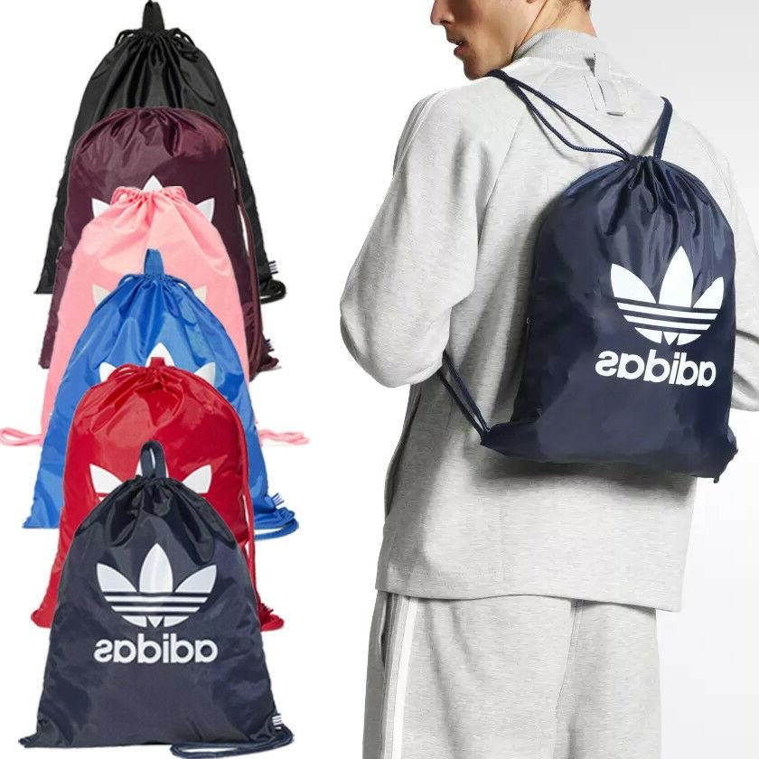 Adidas Originals Trefoil Sports Gymsack Training Gym Bag Sac