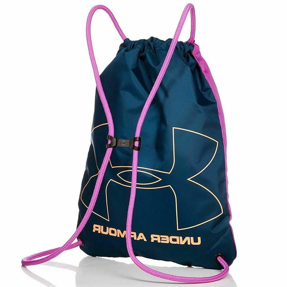 Under Armour Sackpack UA Backpack Bag Fuchsia/Teal/Peach