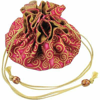 Silk Jewelry With Swirls