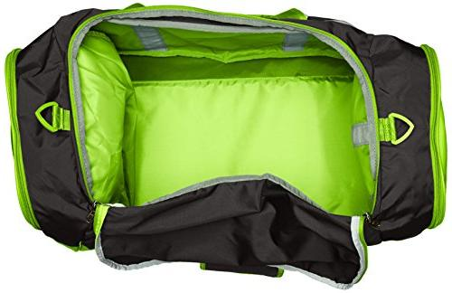 Under Armour II Duffle, Black Green, One Size